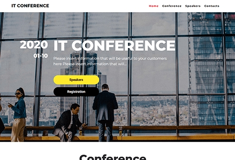 negocios It conference