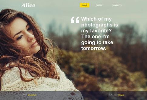 pagina personal Alice